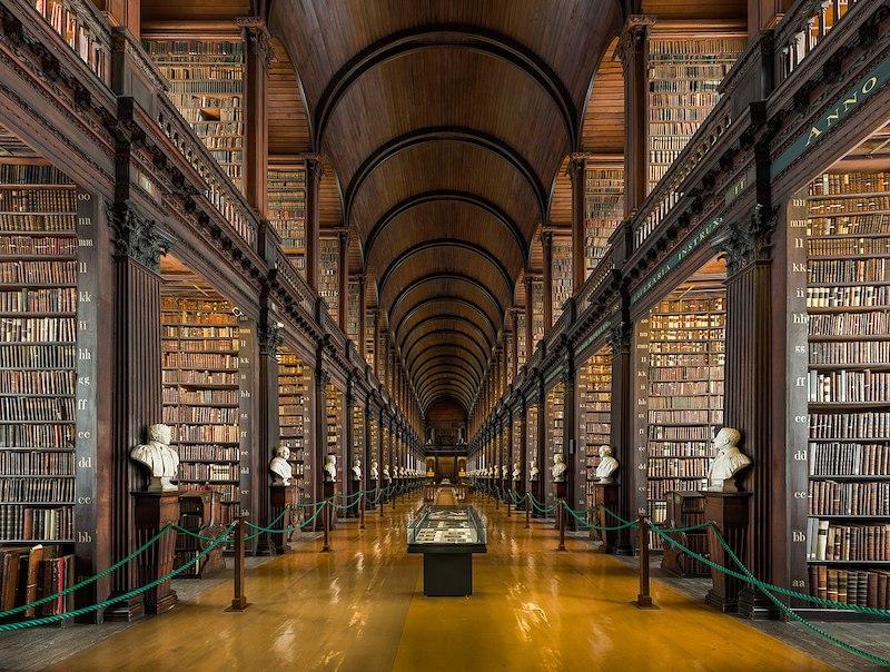 Pontos turísticos em Dublin: Old Library