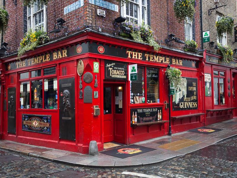 Pontos turísticos em Dublin: The Temple Bar