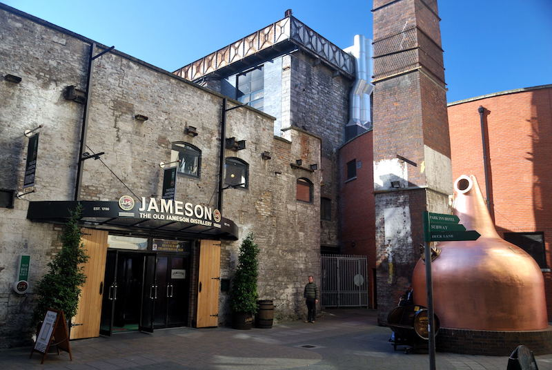 Old Jameson Distillery em Dublin