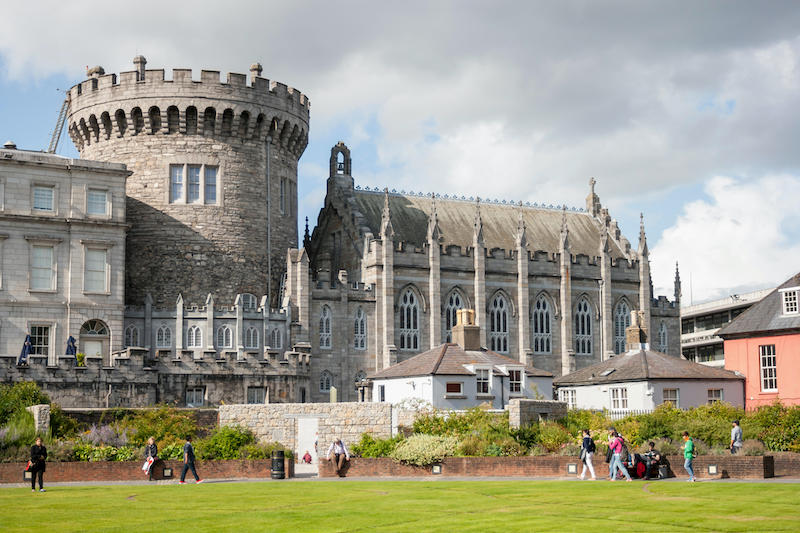 Pontos turísticos em Dublin: Castelo de Dublin