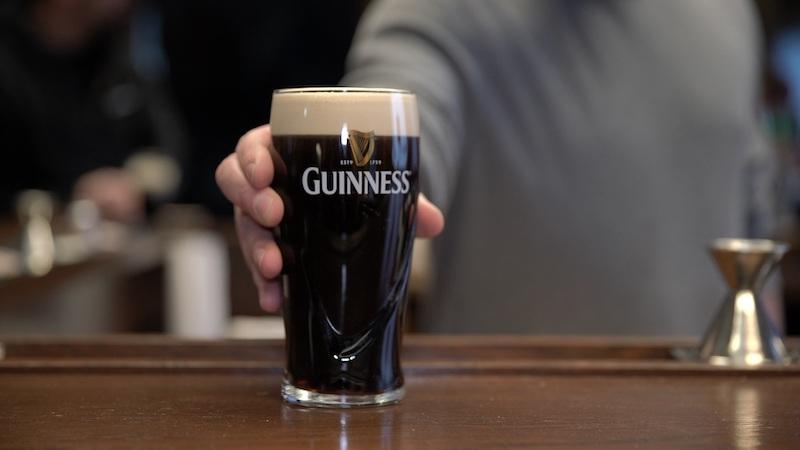 Cerveja do tipo Stout em Dublin