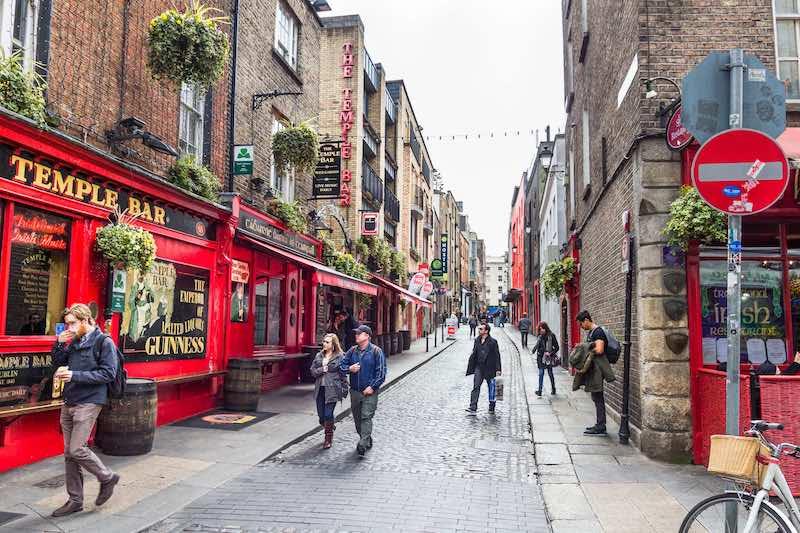 Temple Bar em Dublin