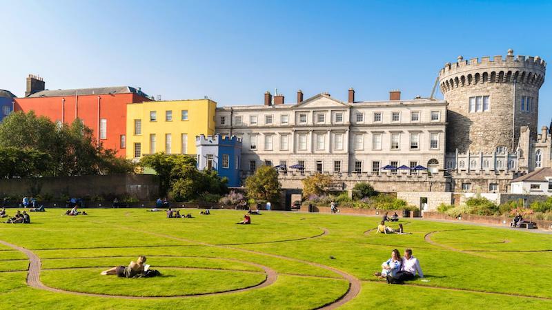 Clima e temperatura em Dublin: Verão