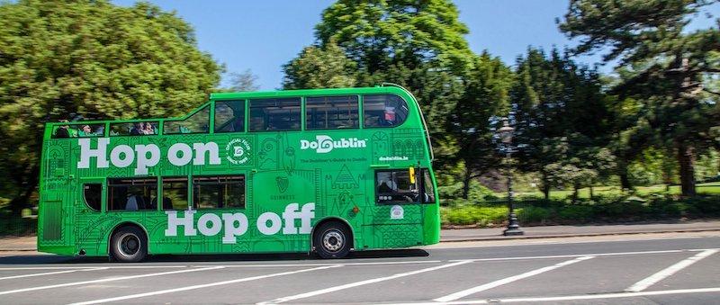 Excursão Hop On-Hop Off em Dublin