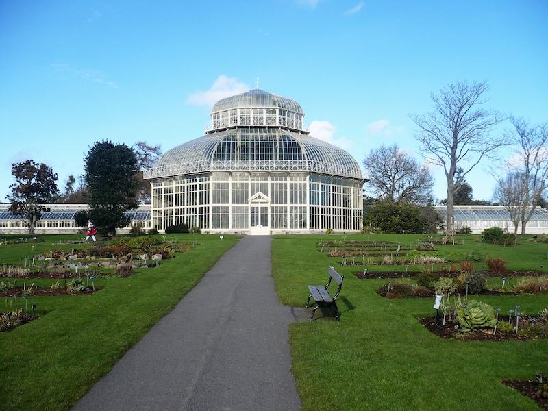Jardim Botânico Nacional em Dublin
