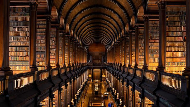 Roteiro de três dias em Dublin: Old Library