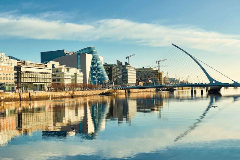 Pontos turísticos em Dublin