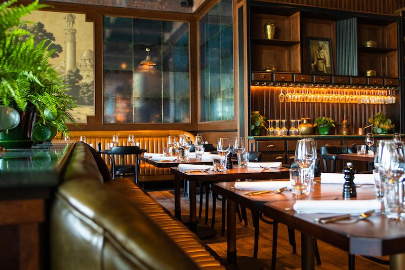 Restaurante em Dublin