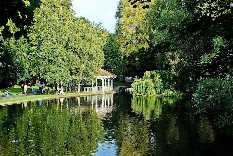 Pontos turísticos em Dublin: St. Stephen's Green