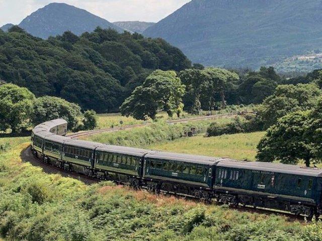 Viagem de trem pela Irlanda e pela Europa