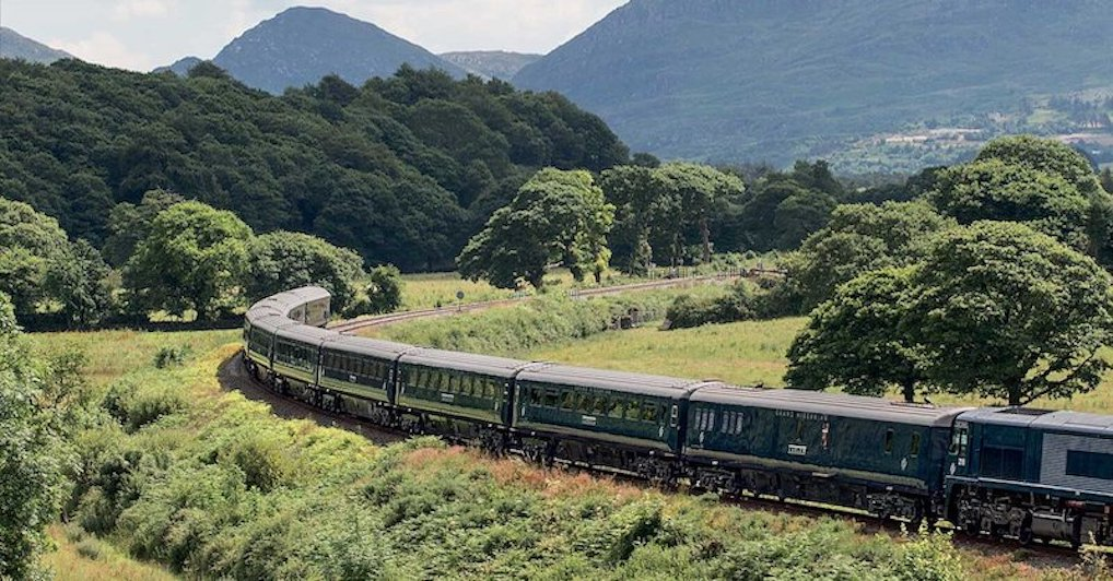 Viajar de trem pela Irlanda