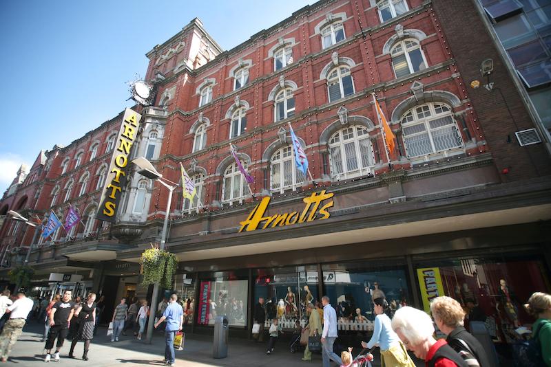 Compras em Dublin: Arnotts