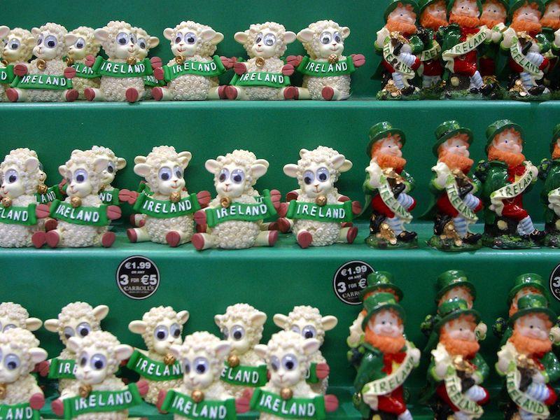 Compras em Dublin: lembrancinhas na Carrolls