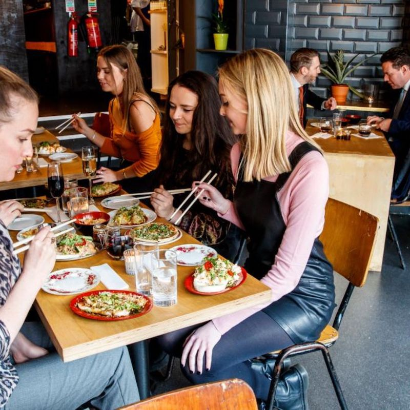 Comer em Dublin
