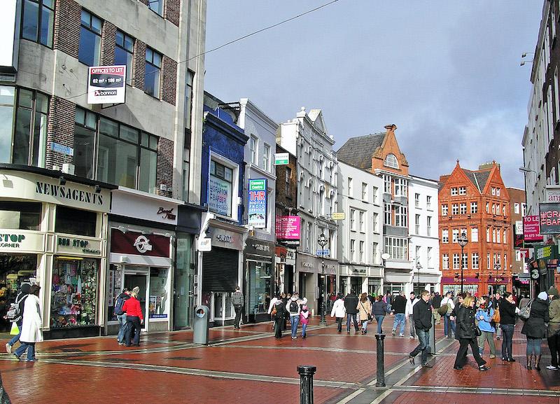 Compras em Dublin: Grafton Street
