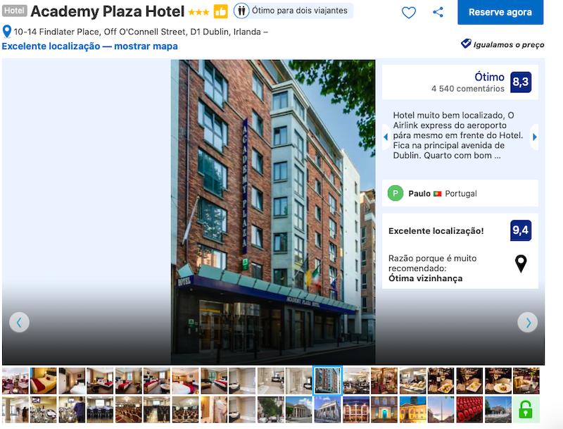 Academy Plaza Hotel em Dublin