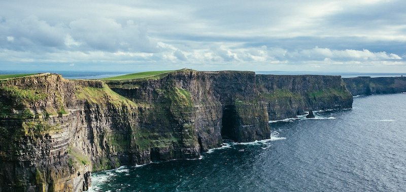 Clifss de Moher na Irlanda - formações