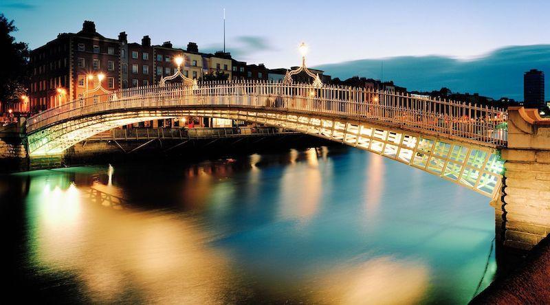 Dublin à noite