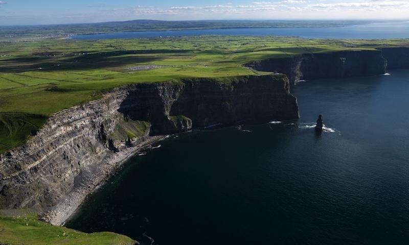 Clifss de Moher na Irlanda