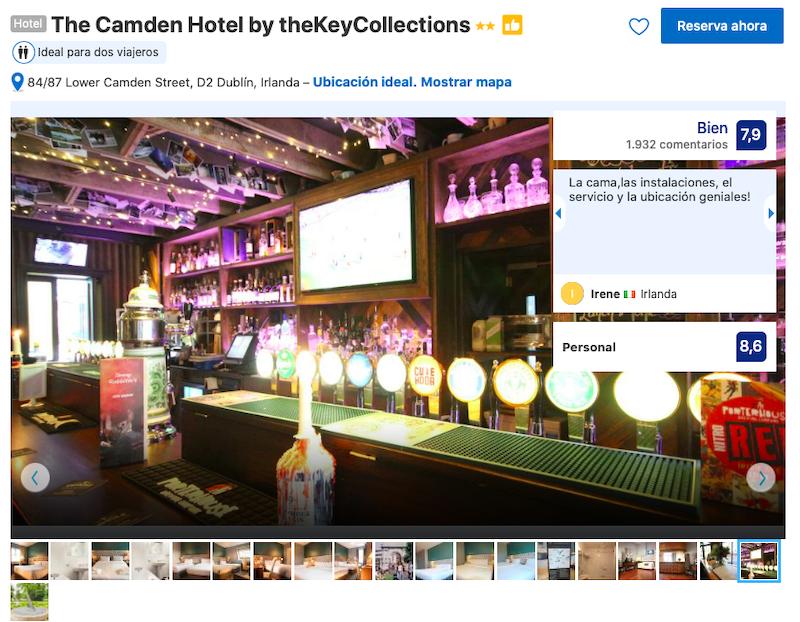 The Camden Hotel em Dublin