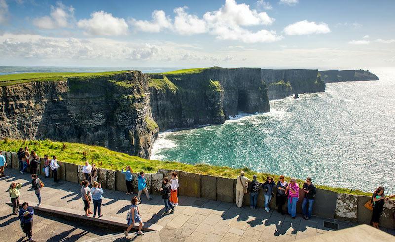 Cliffs de Moher na Irlanda