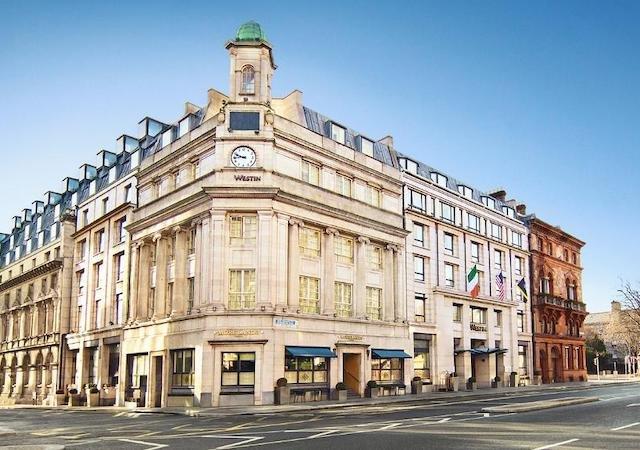 Hotéis de luxo em Dublin