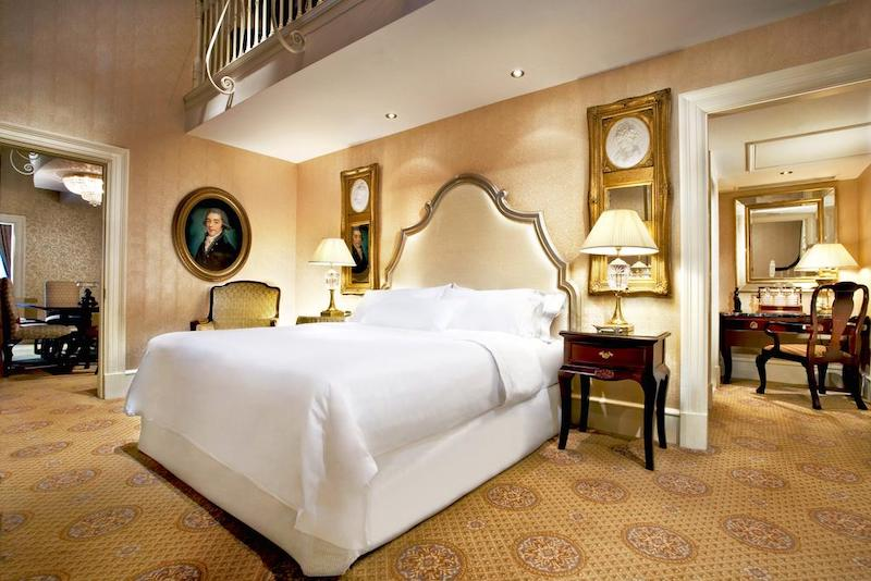Quarto de luxo em Dublin - hotel Westin