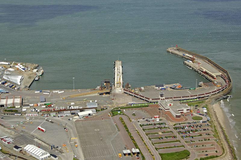 Porto de Rosslare na Irlanda