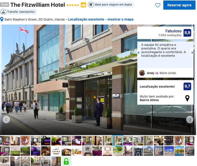 The Fitzwilliam Hotel em Dublin