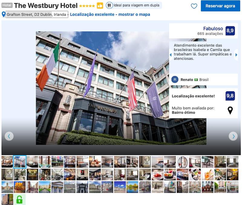 The Westbury Hotel em Dublin