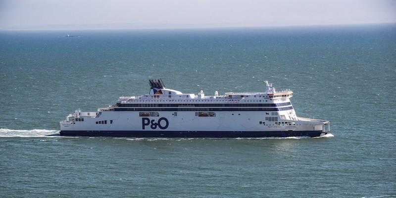 Ferry P&O Irish Sea de Dublin a Liverpool