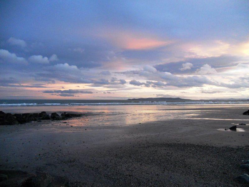 Donabate Beach em Dublin