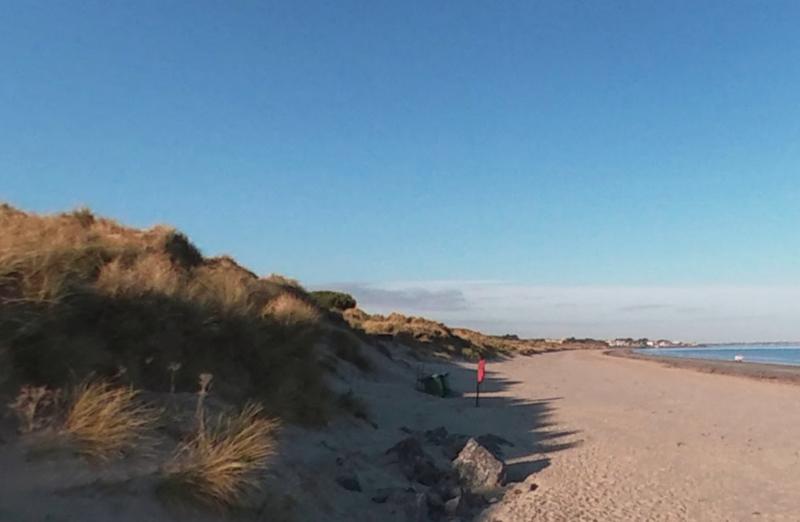 Praia em Dublin