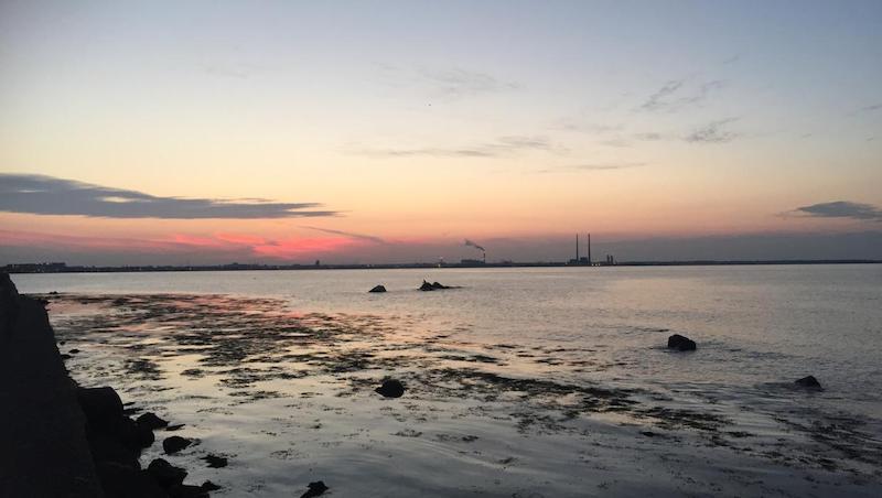 Seapoint Beach em Dublin