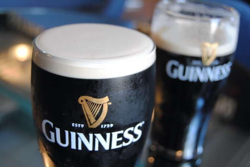 Cerveja preta da Guinness