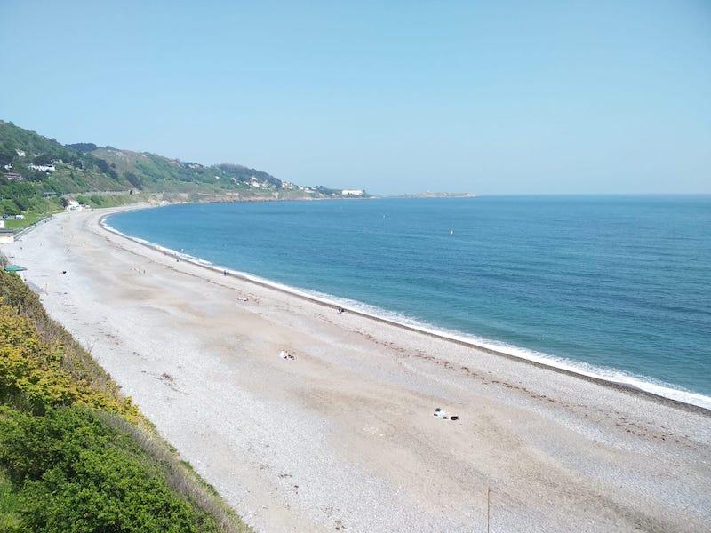 Praia no Condado de Dublin