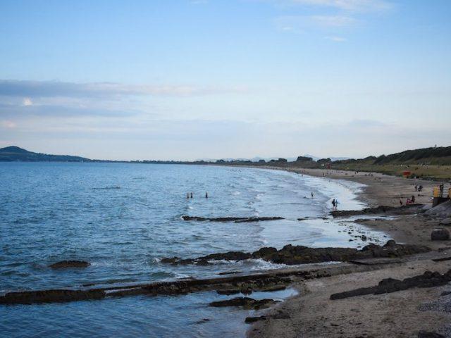 Praia Portmarnock Beach em Dublin