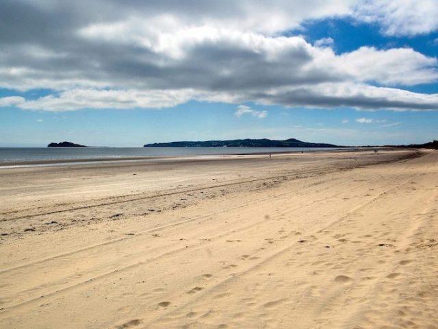 Praia Malahide Beach em Dublin