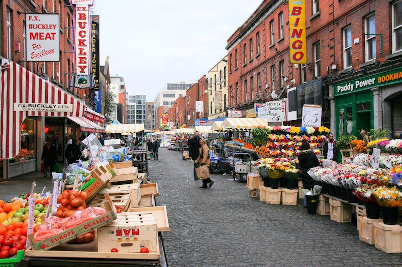 Mercado de rua: Moore Street