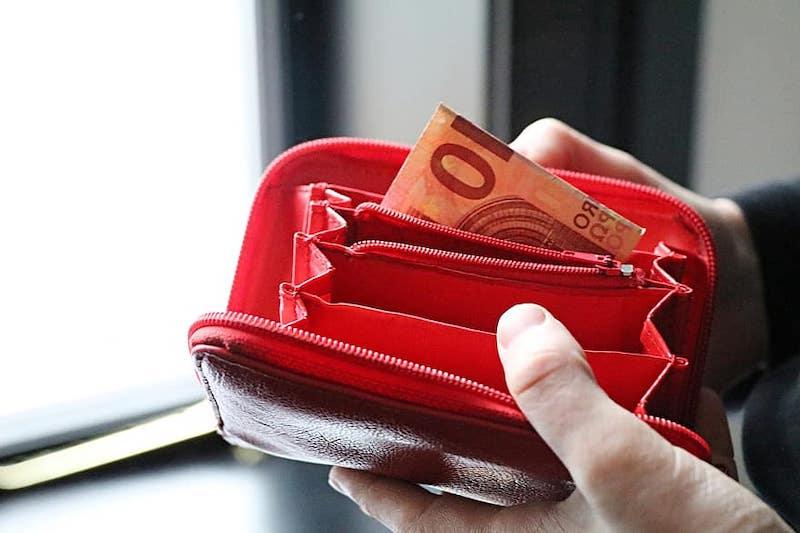 Levar euros em espécie