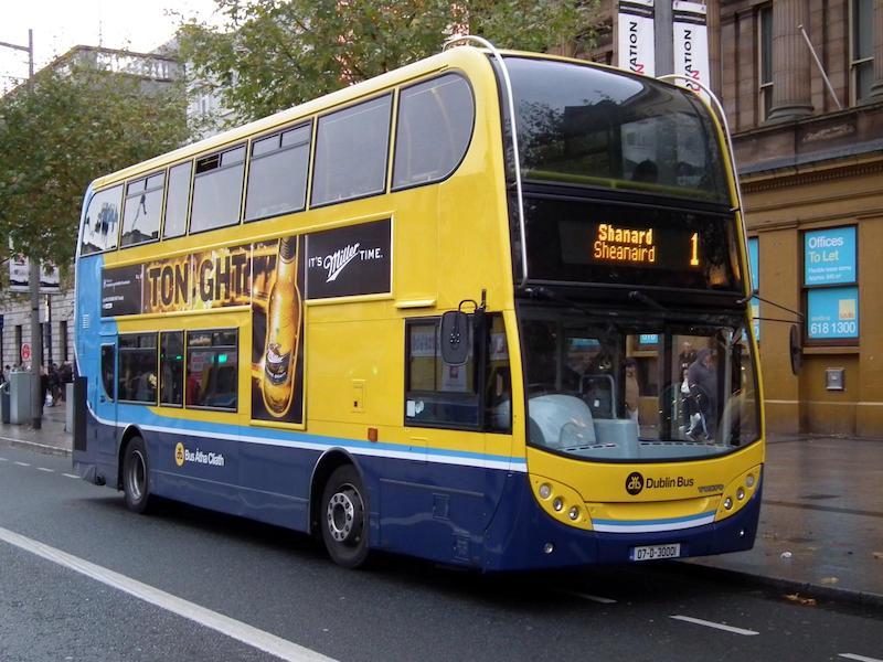 Ônibus para o Jardim Botânico