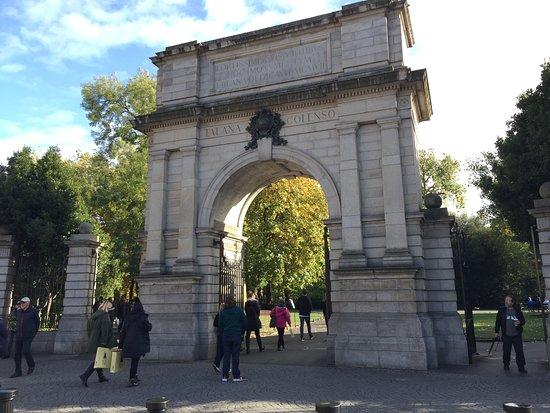 Arco Fusilier em Dublin