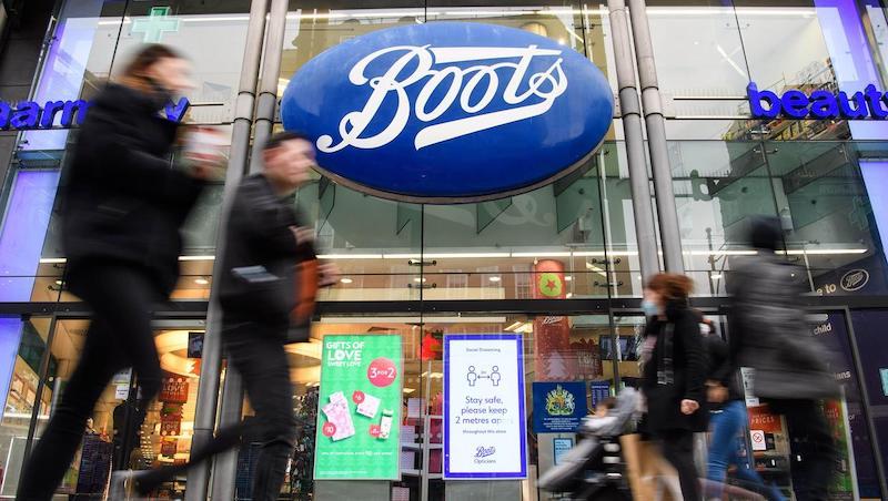Farmácia Boots em Dublin