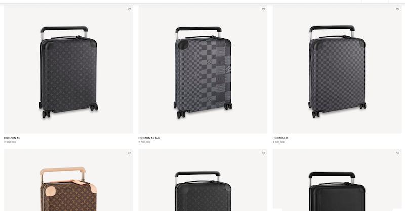 Modelos e preços das malas da Louis Vuitton